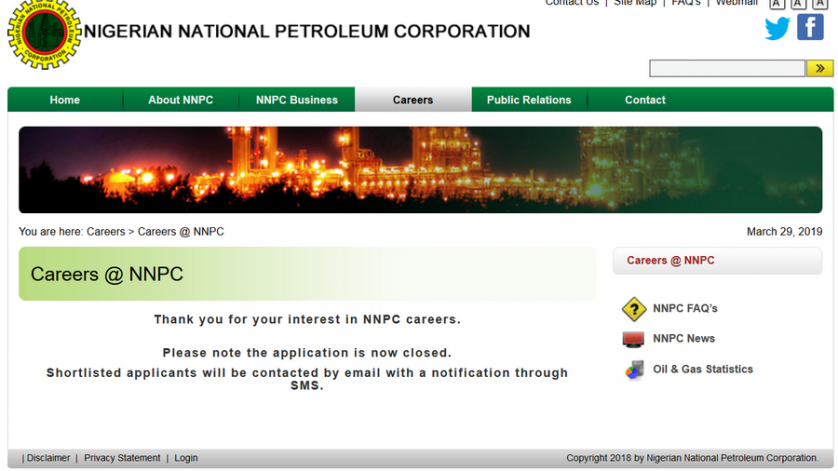 NNPC Shortlisted Candidates Check image