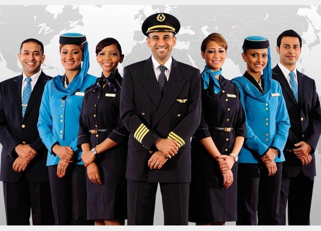 airline staffs image