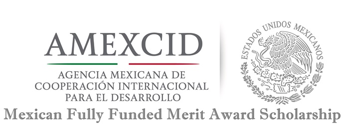 Mexican Fully Funded Merit Award Scholarship – International student
