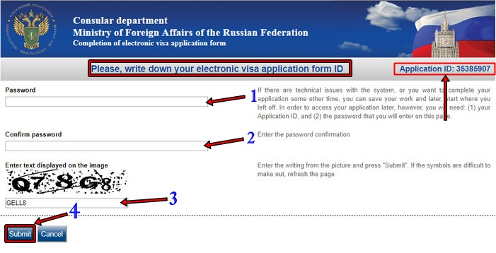 image of Student Russia Visa online form