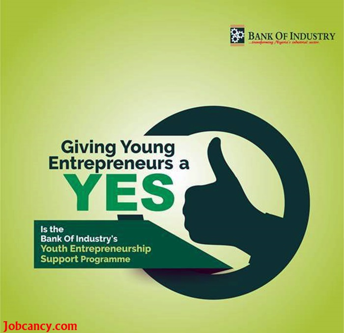 Bank Of Industry YES-Empowerment Programme Registration Form Here