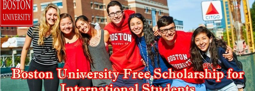 Boston University free Scholarship image