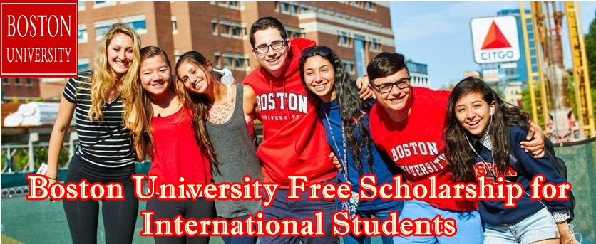 Boston University Free Scholarship for International Students | Apply Now