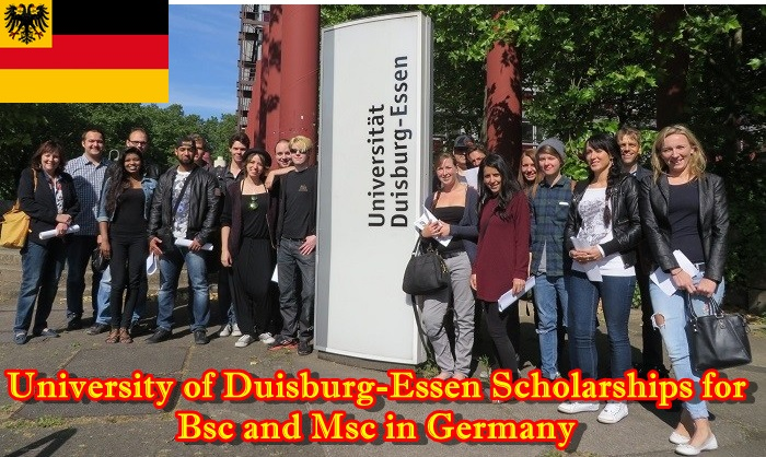 University of Duisburg-Essen Scholarships for Bsc and Msc in Germany | Apply Here