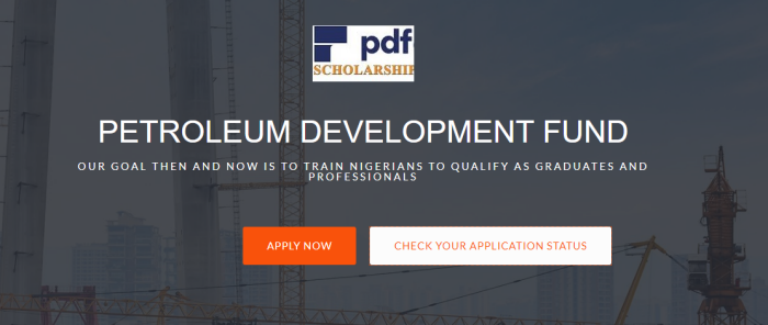Image of Petroleum Development Fund Scholarship