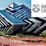 Monash University Excellent Undergraduate Scholarship image