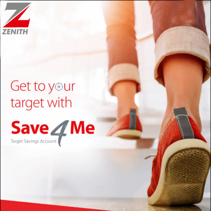 Zenith Bank Save4Me High Interest-Yielding Target Savings Account | Earn More Today