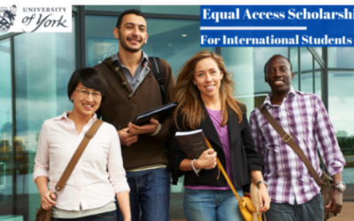 Equal Access Scholarships in The University of York UK